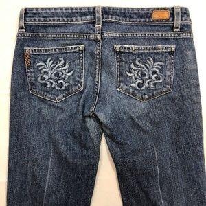 PAIGE Jeans Size 28 Laurel Canyon Boot Cut Stretch